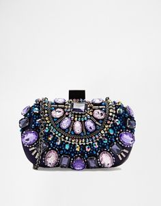 ALDO+Beaded+Box+Clutch+With+Chain+Shoulder+Strap  #TravelBright.