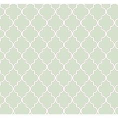 Rasch Papier Tapete WAVERLY Cottage 326214 Buzzing mint silber Landhaus Ornament
