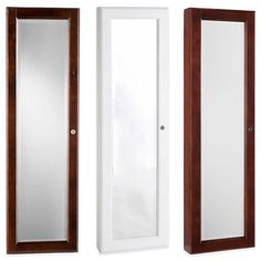 Hang The New View Over The Door Organizational Mirror/Jewelry Armoire Over  A Door Or Against Your Wall. It Looks Like Just A Good Size U2026