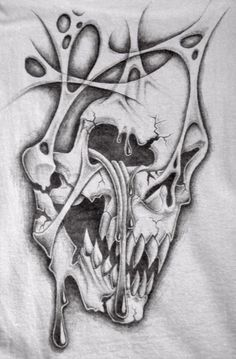 custom tattoo design for the shoulder onto chest. These desxigns are for inspiration only and not for reproduction. If you would like to customize a version for your. Evil Skull Tattoo, Skull Tattoos, Body Art Tattoos, Sleeve Tattoos, Key Tattoos, Foot Tattoos, Tattoo Design Drawings, Skull Tattoo Design, Tattoo Sketches