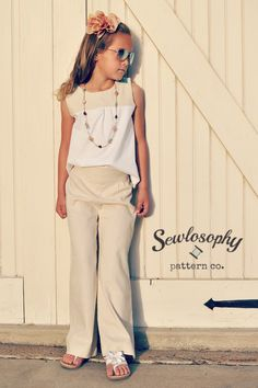 Make a lined bodice pattern with sleeves in sleeveless for the Serendipity Blouse by Sewlosophy Pattern Co.