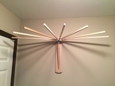drying racks for clothes | Wall Mounted Clothes Drying Rack - Wooden Clothes…