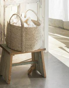 The Dharma Door USA - Round Jute Basket - Natural, $120.00 (http://www.thedharmadoorusa.com/round-jute-basket-natural/)