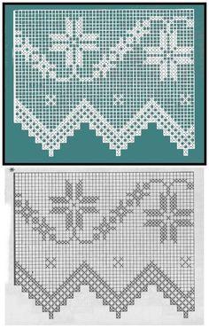 Crochet Borders, Crochet Motif, Crochet Doilies, Crochet Flowers, Crochet Lace, Crochet Cross, Thread Crochet, Love Crochet, Embroidery