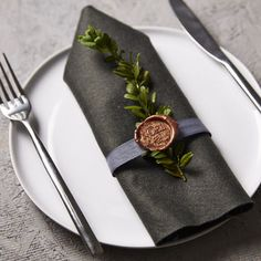 Noël christmas wax seal stamp - perfect dinner party finishing touch