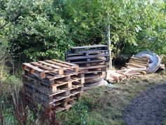 Pallet delivery for outdoor kitchen x