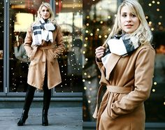 Get this look: http://lb.nu/look/7993014  More looks by Agnieszka  Ch.: http://lb.nu/stylishblogstory  Items in this look:  Blouse, Scarf, Coat   #casual #chic #elegant