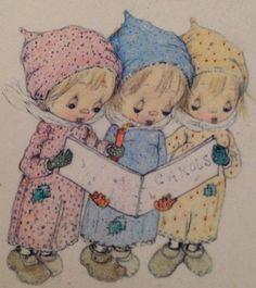 ❤️1971 Hallmark Betsey Clark Little Book