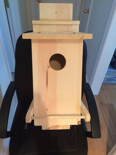 Check out this incredible screech owl box! Handcrafted by Gary Taylor of Cool, CA design by Audubon Society with modifications by Gary Taylor Woodworking (like the amazing owlet perch!) one of a kind and crafted to last for many many years. Contact Garydtaylor@yahoo.com