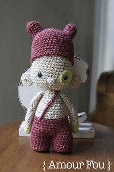 { Amour Fou | Crochet }: Mr Darcy