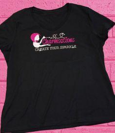Charmsations Logo Shirt Plus Size Add Domain http://www.charmsations.com/#DreamerzCreationzCharmsU