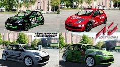 Assetto Corsa Cars Renault Clio cup 197 Version 1.1 Downloads MODs