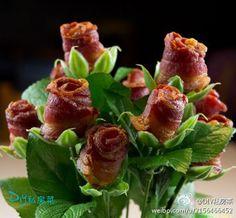 bacon rose add tomato = BLT
