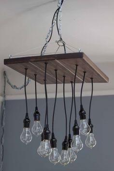 the inspiration urban chandy chandeliers - Edison Chandelier