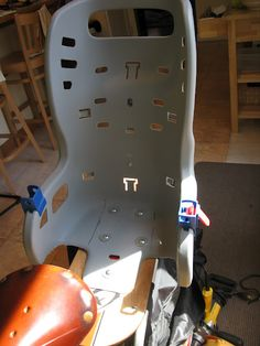 DIY Xtracycle Childs Seat
