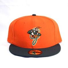 Greensboro Grasshoppers New Era Alternate Fitted Cap 59 50 New Era Fitted 67618f6a9f0