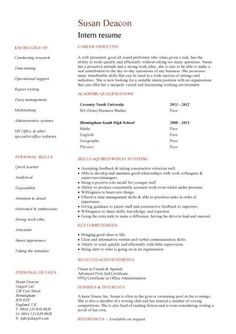 resume builder no work experience