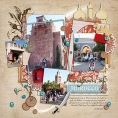 Disney Layout - Epcot - Morocco