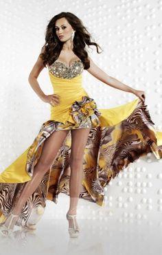 A-line Sweetheart Lovely Asymmetrical Satin Prom Dress - Prom Dresses - Beloveddress
