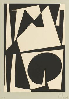 ANTONIO LLORENS, Untitled 9, 1960, Serigraph on paper, 38.1 × 25.4 cm