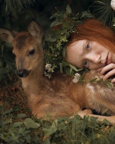 28 Ideas For Fantasy Photography Magic Animals Foto Fantasy, Fantasy Art, Fantasy Photography, Portrait Photography, Baby Girl Blue Eyes, Foto Shoot, Photos Of Eyes, Natural Redhead, Tier Fotos