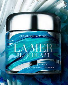 Creme de la Mer Blue Heart Moisturizing Cream by La Mer via @neimanmarcus @LaMer #limitededition #fromthesea