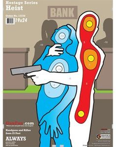Hostage series targets, i know some of my competitive archers would appreciate targets like this! Not sure how i feel about them shooting human related targets though!