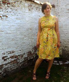 van leentje: Mijn june-dress