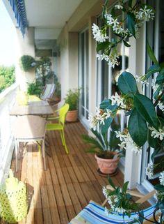 belle r alisation de balcon on adore le jasmin au parfum. Black Bedroom Furniture Sets. Home Design Ideas