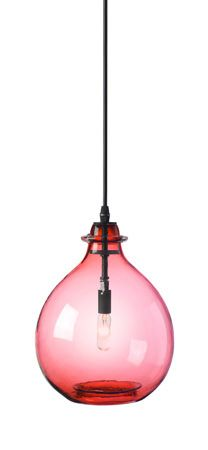 Jug Lamp Pink Small Pendant :: Hand Blown Glass | More pastel inspiration here: http://mylusciouslife.com/prettiness-luscious-pastel-colours/