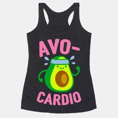 Show off your love of nutrition and fitness with this avocado lover's, fitness and food pun, cardio/workout shirt! Now eat your avocados and go for a run! Wedding Day Shirts, Bridal Party Shirts, Bachelorette Party Shirts, Sweatshirt Outfit, Workout Tanks, Workout Wear, Workout Outfits, Gym Outfits, Estilo Geek