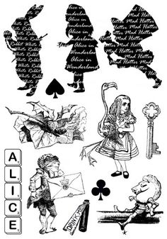 another great British stamp company alice in wonderland