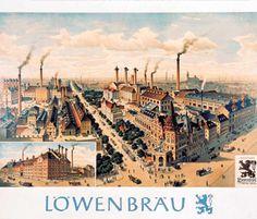 Löwenbräu Brewery, 1909