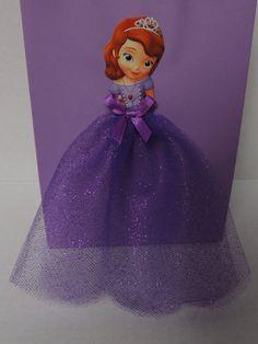10 Pieces Princess Sofia the First Birthday Tutu Favor Goody