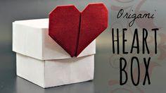 Como hacer una facil caja de amor | tutorialesvideos