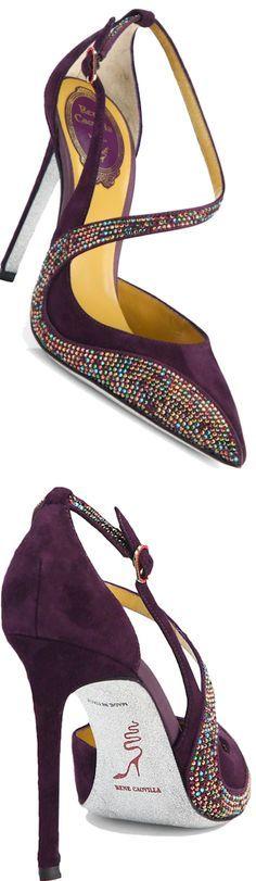 Purple Sexy High Heels