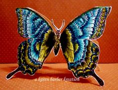BUTTERFLY, BUTTERFLY... by Karen B Barber - Cards and Paper Crafts at Splitcoaststampers