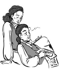Alex falling asleep on Laurens Hamilton Lams Hamilton, Hamilton Lin Manuel Miranda, John Laurens, Hamilton Fanart, Hamilton Musical, And Peggy, What Is Your Name, Alexander Hamilton, Founding Fathers