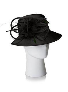 Giovannio Women's Schoolgirl Hat, Black