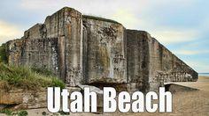 Utah Beach, WN10 - Bunkers - Normandy, France