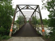 County Bridge No. 45 in Knox County, Indiana.