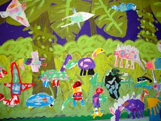 group mural