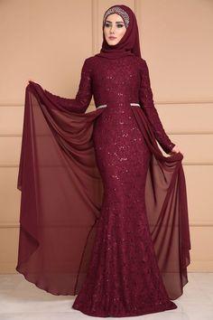 Hijab Prom Dress, Dress Outfits, Hijab Fashion, Fashion Dresses, Moslem Fashion, Kebaya Dress, Fashion Illustration Dresses, Prom Dresses Long With Sleeves, Islamic Fashion