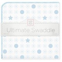Ultimate Swaddle - jax & stars #MadeinUSA #MadeinAmerica #SoftUScottonFlannel #BabyGift #Nursery #BabyBlanket #SAVE #Personalize