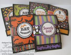 Inspired by Stamping, Kendra Sand, Halloween Tags stamp set, Halloween Bags, Halloween Treat Bags, Halloween ideas