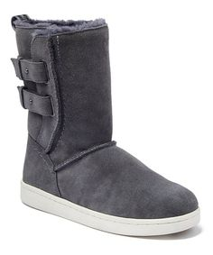 BEARPAW Gray Monica Suede Boot - Women   Best Price and Reviews   Zulily Suede Boots, Ugg Boots, Cold Weather Boots, Bearpaw Boots, Soft Suede, Amazing Women, Me Too Shoes, Uggs, Gray