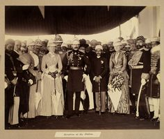 Nizam of Hyderabad receive the Duke and Duchess of Connaught at the Railway Station; I Gen, Secrets Revealed, Duke And Duchess, Hyderabad, The Secret, Empire, January, India, Mosques
