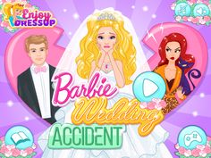 Barbie Wedding Accident