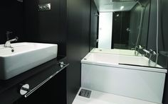 Functional and Compact Bathroom Solution for Small Apartment - Subaco by Spiritual Mode