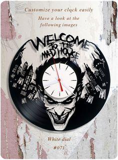 #dccomics #joker_vinyl_clock #dc_comics_vinyl_clock #superheros #gotham #dc #christmas_present #christmas_gift #birthday_present #happybirthday